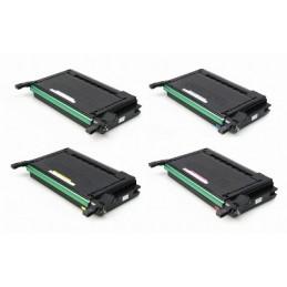 Giallo compatibile per Samsung Clp 650 600N 650N. Da 4.000