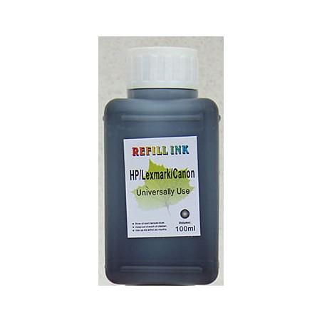 Inchiostro nero da 100 ml per Lexmark