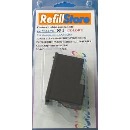 Cartuccia colore rigenerata Lexmark numero 1
