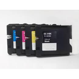 30ML Pigment per Ricoh GX e2600 e3000N e3300N e3350n Giallo