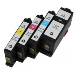 Cartuccia nera comp. Lexmark S315 S415 S515 Pro 715 Pro 915