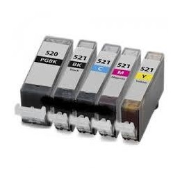 Giallo compatibile per Canon IP 3600 IP4600 MP540 MP620 MP 980