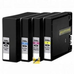 Ciano compatibile XL pigmentato per Canon iB 4050 MB 5050 MB