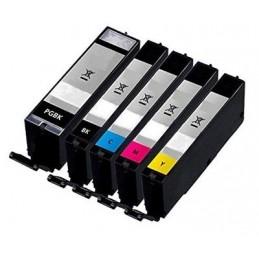 Giallo XL con CHIP per Canon TS 6150 8150 9150 - TR 7550 8550