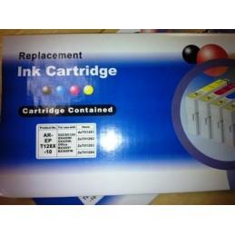 10 Cartucce Compatibili T1281-1282-1283-1284 (4xNere + 6 colori)