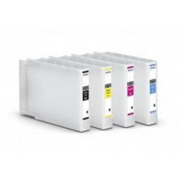 Ciano XL compatibile Epson WF8010 WF8510 WF8090 WF8590 - 4K