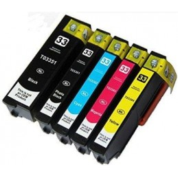 Nero XL Compatibile Epson XP 530 540 630 635 640 645 830 900 -