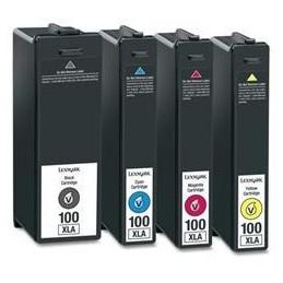 GIALLO XL compatibile per Lexmark Pro 200 205 705 - S 300 305