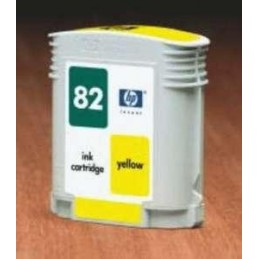 GIALLO da 69ml compatibile per HP DesignJet 10 20 50 500 510
