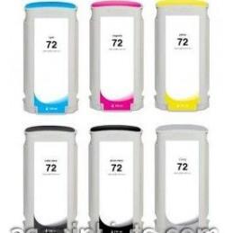 NERO OPACO pigmentato compatibile HP DesignJet T610 620 770 790