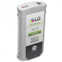 NERO OPACO pigmentato compatibile HP DesignJet Z2100 3100 3200