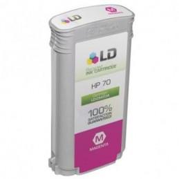 MAGENTA pigmentato compatibile HP DesignJet Z2100 3100 3200