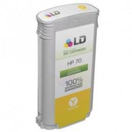 GIALLO pigmentato compatibile HP DesignJet Z2100 3100 3200 5200