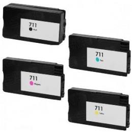 NERO da 80ml pigmentato HP Designjet T120 T520 - (H711) -