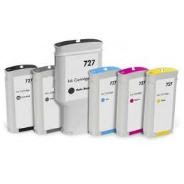Ciano Compatible  Hp Designjet  T1500,T2500,T920-130Ml 727