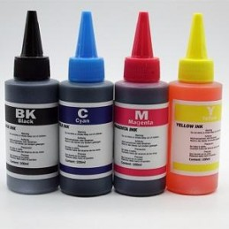 100ML INK YELLOW FOR UNIVERSALE EPSON