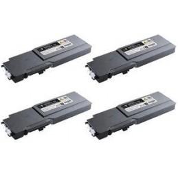 GIALLO compatibile Dell C 3760 C 3765 - 9K -