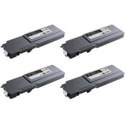 Yellow comptib for Dell C3760N,3760DN,3765DNF-9K593-11120