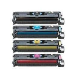 MAGENTA rigenerato HP LaserJet 1600 2600 2605 Canon LBP 5000
