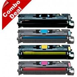 GIALLO rigenerato HP LaserColor 1500 2500 2550 CANON LBP 5200 -
