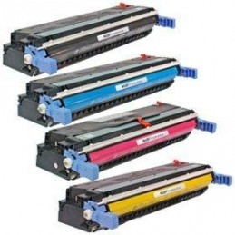 Ciano rigenerato HP Color 5500 5550 Canon LBP 2710 2810 - 12K -