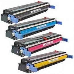 GIALLO rigenerato HP Color 5500 5550 Canon LBP 2710 2810 - 12K -