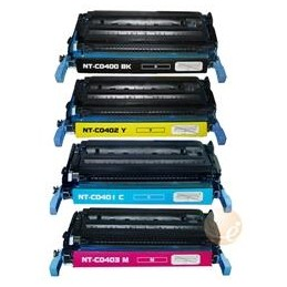 Yellow Toner rigenerato HP Color CP 4005N,CP 4005DN. 7.500P