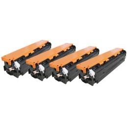 GIALLO compatibile universale HP CB542A CE322A CF212A - 1.4K -