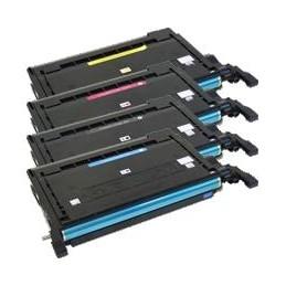 GIALLO rigenerato Samsung CLP 610 660 CLX 6200 6210 6240 - 5K -