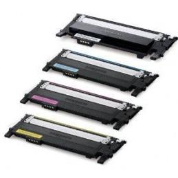 GIALLO compatibile Samsung CLP 360 365 Xpress 410 460 CLX 3300
