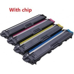 GIALLO compatibile con chip per Brother DCP L3510 L3550 HL