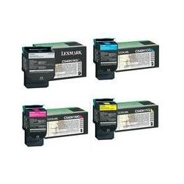 NERO rigenerato Lexmark C 540 543 544 X 543 544 546 548 - 2.5K -