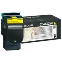 GIALLO compatibile Lexmark C 544 546 X 543 544 546 548 - 4K -