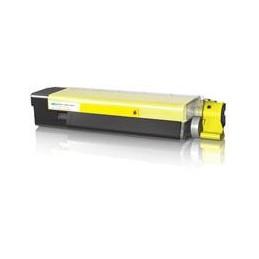GIALLO rigenerato con chip OKI C 5600 C 5700 - 2K -