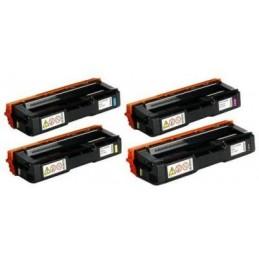 GIALLO compatibile Ricoh Aficio SPC 250 252 262 - 6K -