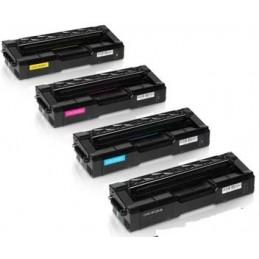 Black Rigenerat Ricoh Aficio SPC250S,C260S,C261S-2K407543