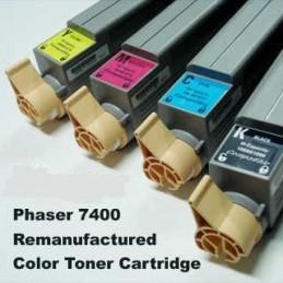GIALLO rigenerato Xerox Phaser 7400 - 18K -
