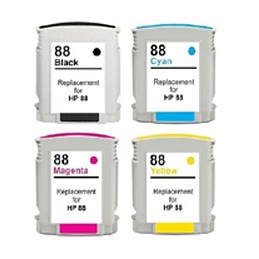 NERO da 69ml compatibile HP OfficeJet PRO K550 5400 8600 -