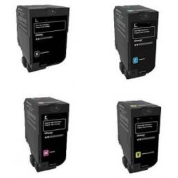 GIALLO MPS compatibile Lexmark C 2325 2425 2535 2640 - 2.3K -