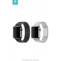 Cinturino Apple Watch 4 serie 40mm Elegant Link Space Black