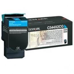 Ciano compatibile per Lexmark C 544N 544DN 544DTN 544DW 546DTN.