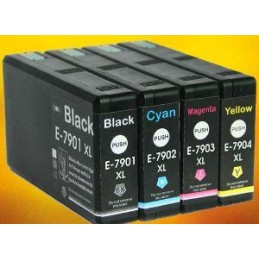 GIALLO compatibile Epson WF 4630 4640 5110 5190 5620 5690 - 2K