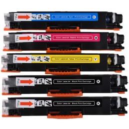 KIT Toner compatibili HP PRO M 100 175 176 177 270 275 CP 1020