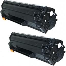 2 TONER Universali HP 35A 36A 78A 85A - Canon 712 713 725 726 -