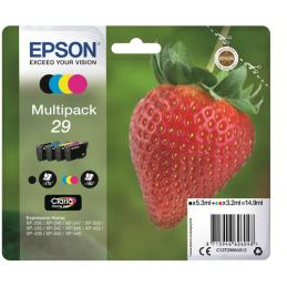 Multipack Epson Fragola 29 Nero Ciano Magenta Giallo T2986
