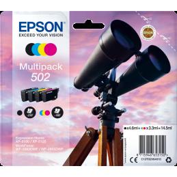 Multipack Epson Binocolo 502 Nero Ciano Magenta Giallo