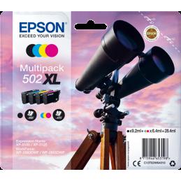 Multipack Epson Binocolo 502XL Nero Ciano Magenta Giallo -