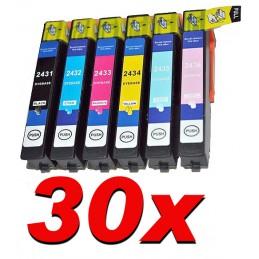 30 cartucce compatibili XL Epson per XP 55 XP750 760 850 860