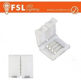 Connettore rapido I per strip 10mm LED RGB/RGBW