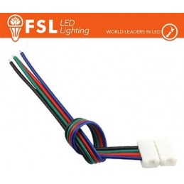 Connettore rapido END per strip 10mm LED RGB/RGBW